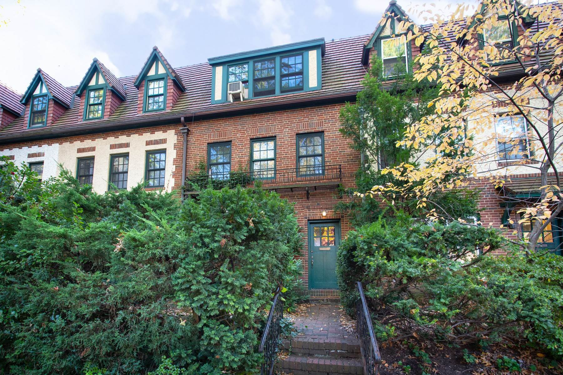 townhouses for Sale at 'SPECTACULAR 2 FAMILY BRICK TOWNHOUSE STEPS FROM HAWTHORNE PARK' 219 Burns Street, Forest Hills Gardens, Forest Hills, New York 11375 United States