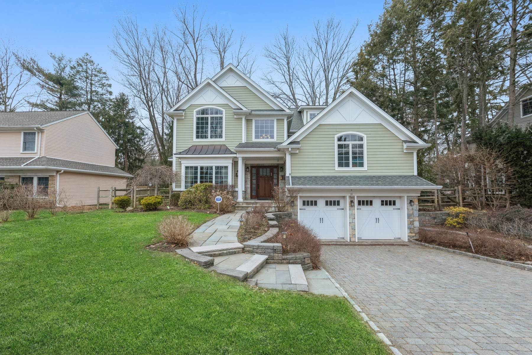 Single Family Homes for Sale at Handsome & Charming 21 Jefferson Ave Tenafly, New Jersey 07670 United States