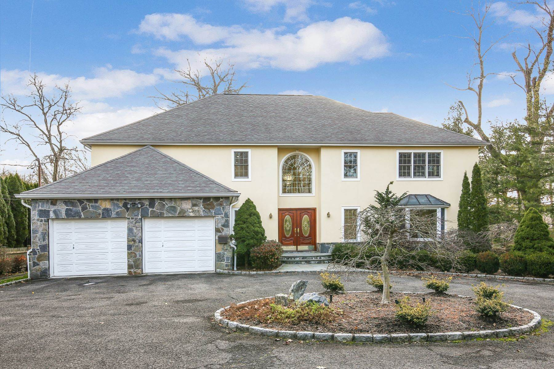 Single Family Homes for Sale at Magnificent, Young, Privately Tucked Colonial 2 Burgess Road Scarsdale, New York 10583 United States