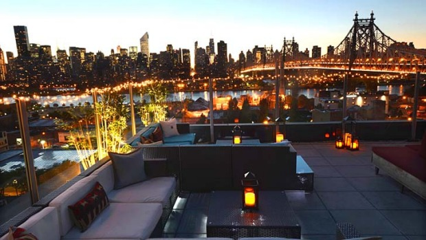 The Z Hotel In Long Island City Queens Has Some Of Best Views Our Manhattan Skyline Sweeping Entire Through