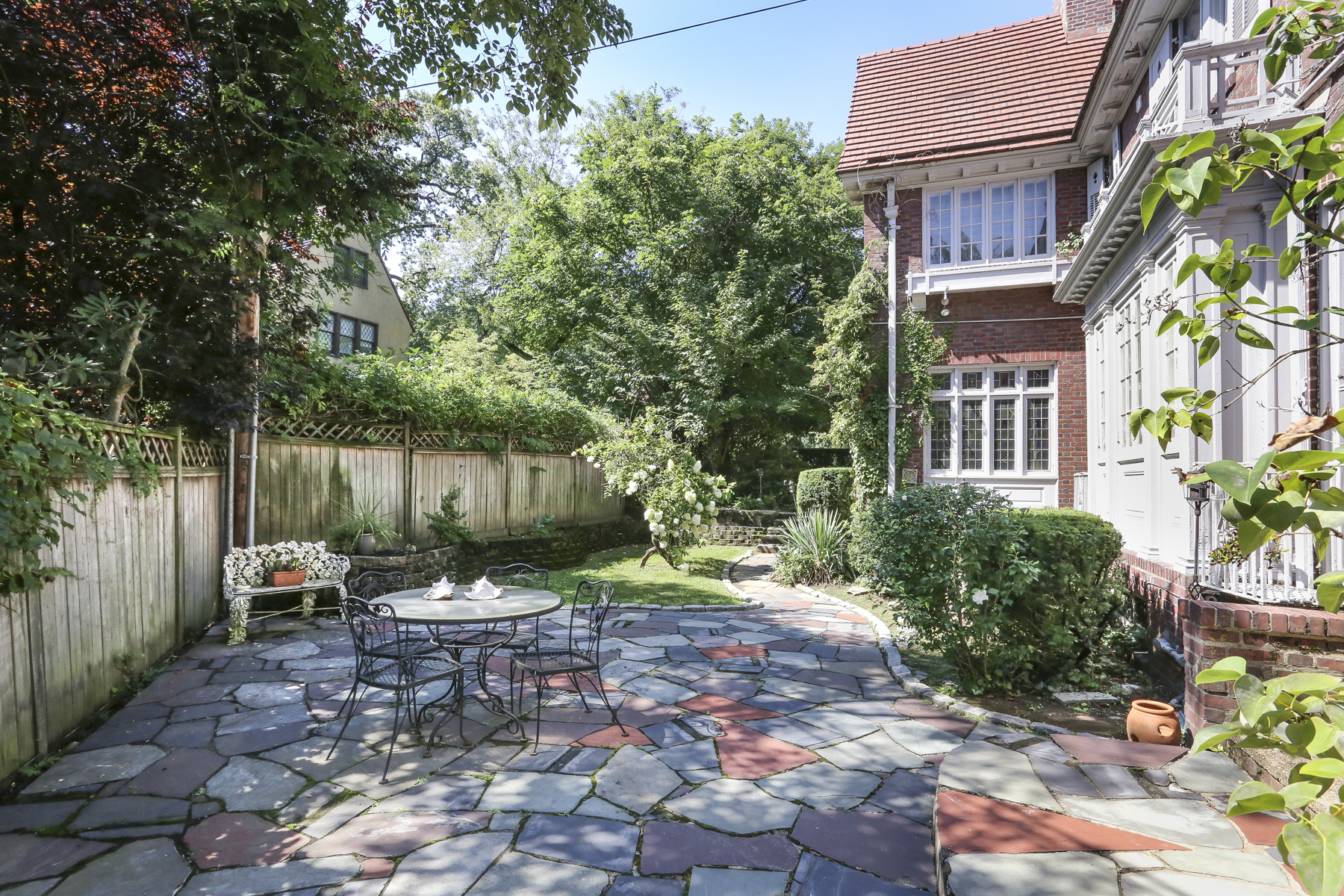 Beautiful New Forest Hills Gardens Listing Terrace