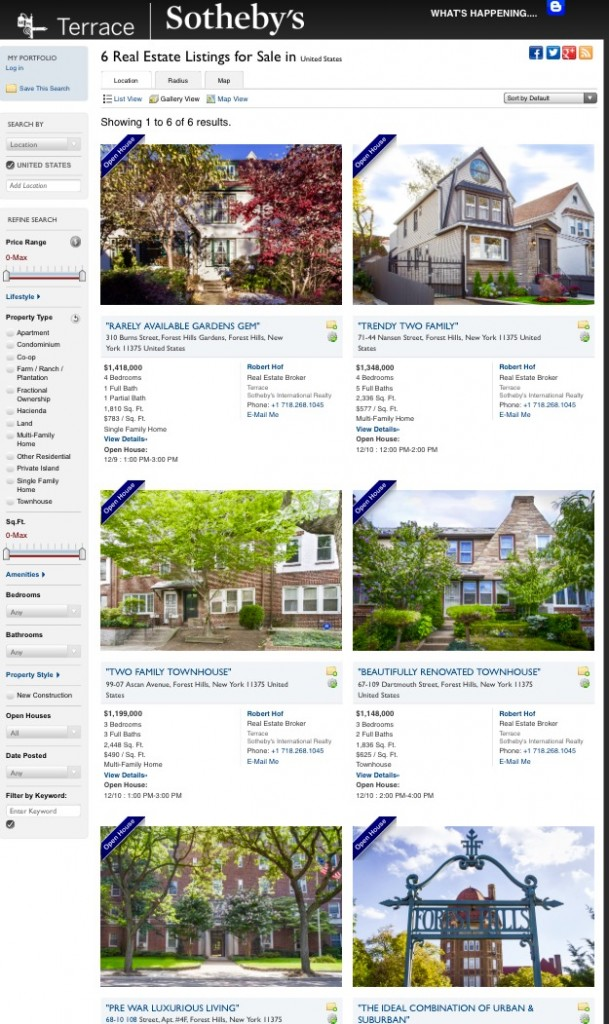 forest hills luxury real estate